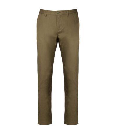 Kariban Mens Chino Trousers (Light Khaki) - UTPC3408