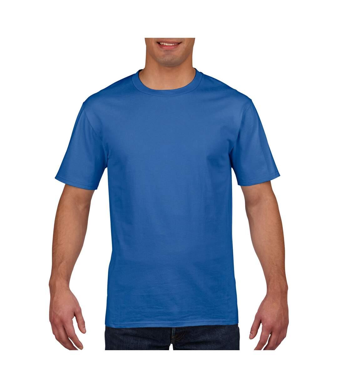 Gildan Mens Premium Cotton Ring Spun Short Sleeve T-Shirt (Royal) - UTBC480