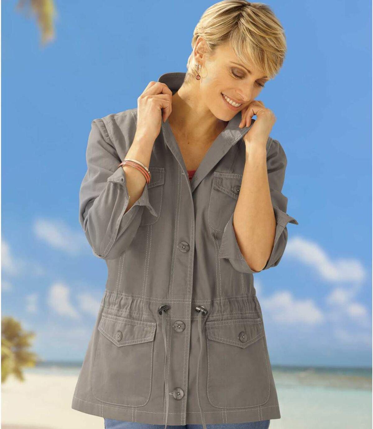 Women's Light Safari Jacket - Tan Atlas For Men