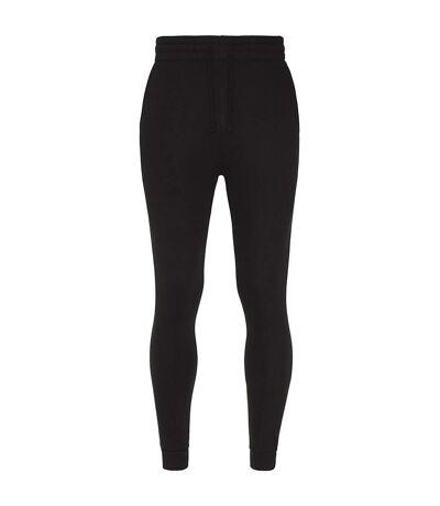 AWDis Hoods Mens Tapered Track Pants (Jet Black) - UTRW5366