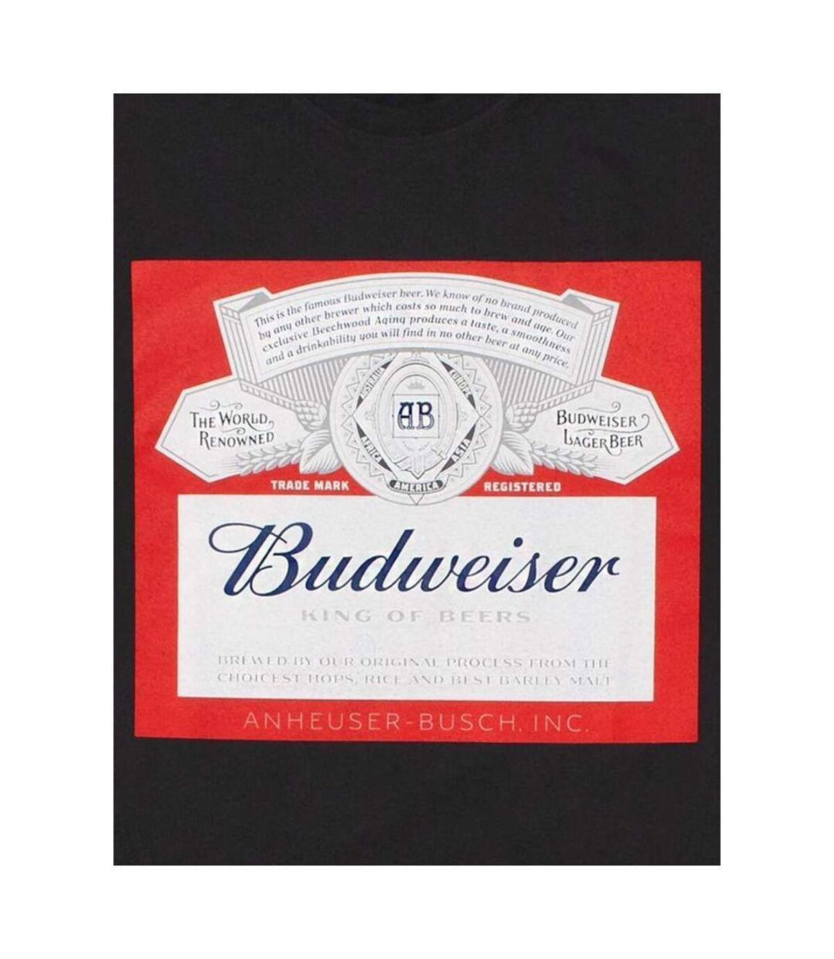 Budweiser Mens Logo T-Shirt (Black) - UTNS5966
