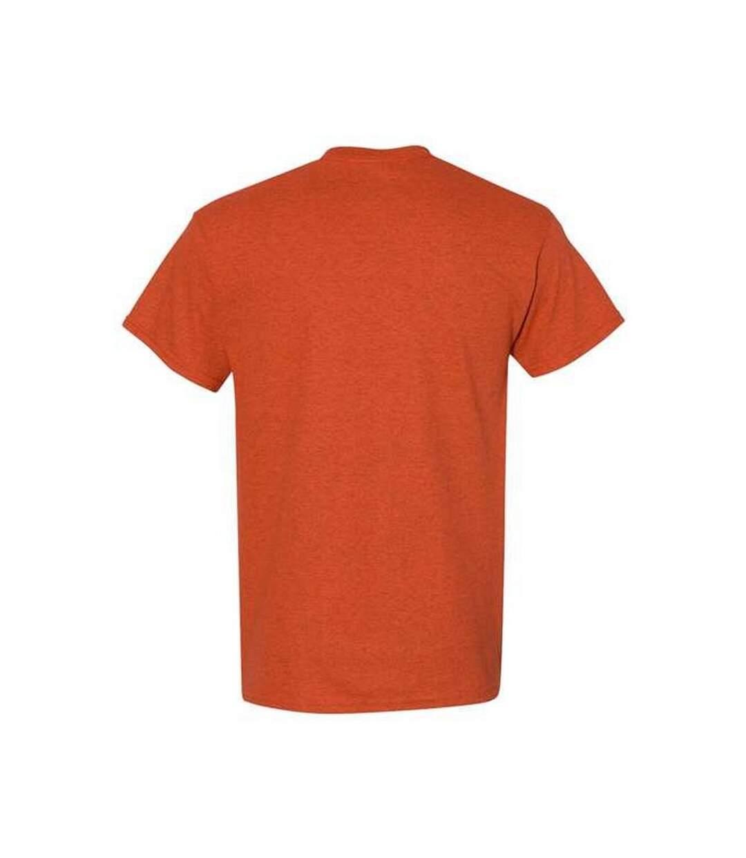 Gildan Mens Heavy Cotton Short Sleeve T-Shirt (Heather Sapphire) - UTBC481
