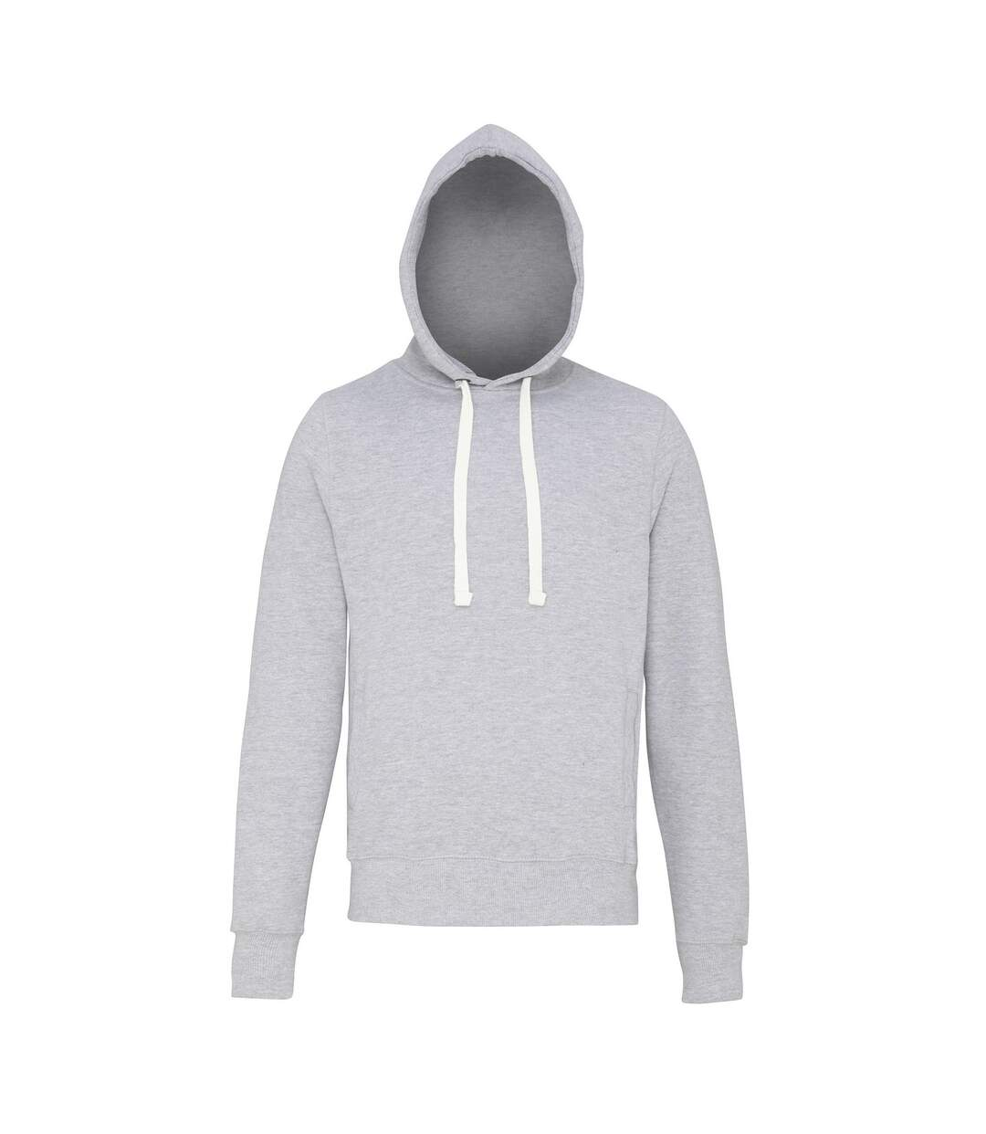 AWDis Just Hoods Mens Chunky Pullover Hoodie (Heather Grey) - UTRW3484