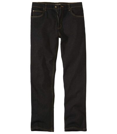 Jean Regular Stretch Confort Noir