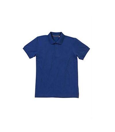 Stedman Mens Henry Cotton Polo (True Blue) - UTAB359
