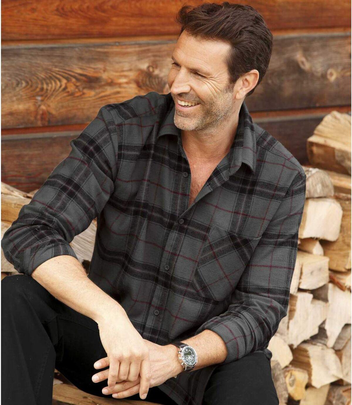 Men's Winter Flannel Shirt Atlas For Men