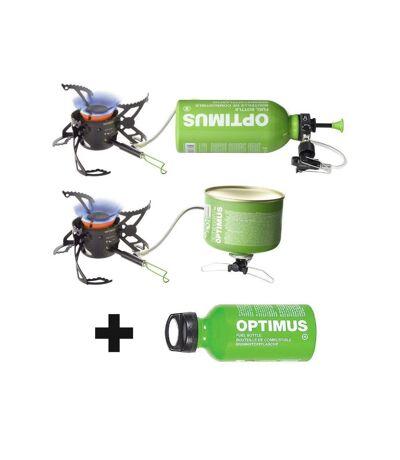 Réchaud multi-combustibles & bidon Fuel Optimus Polaris Optifuel