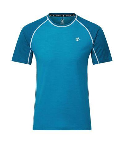 Dare 2B Mens Conflux T-Shirt (Methyl Blue/Petrol Blue) - UTRG5455