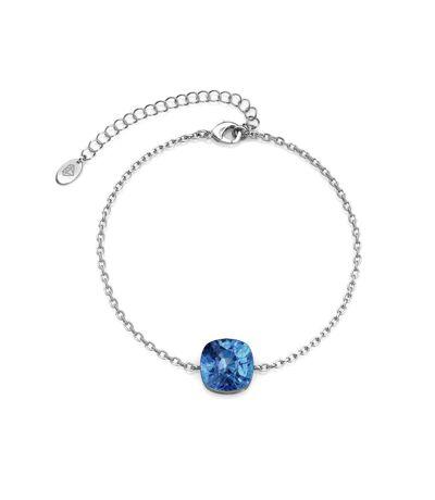 Bracelet Juliana - Argenté et Bleu
