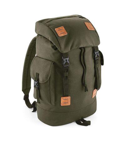 Sac à dos explorer vintage - BG620 - 27 l - vert militaire army