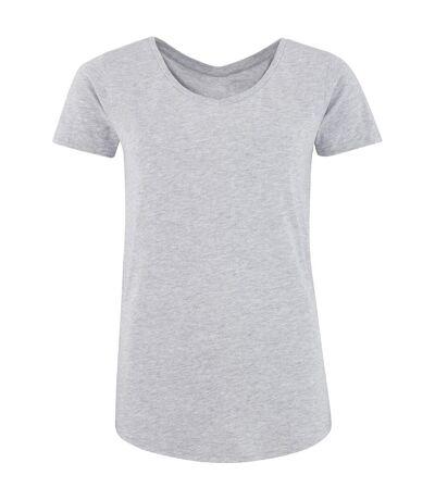 Comfy Co - Haut de pyjama à manches courtes - Femme (Gris) - UTRW5318