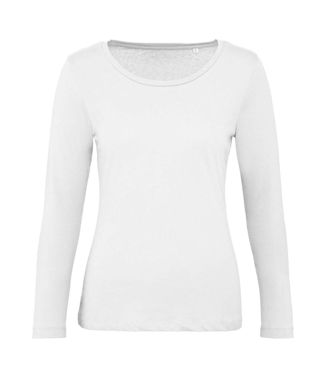 B&C - T-Shirt Manches Longues Inspire - Femme (Blanc) - UTBC4001