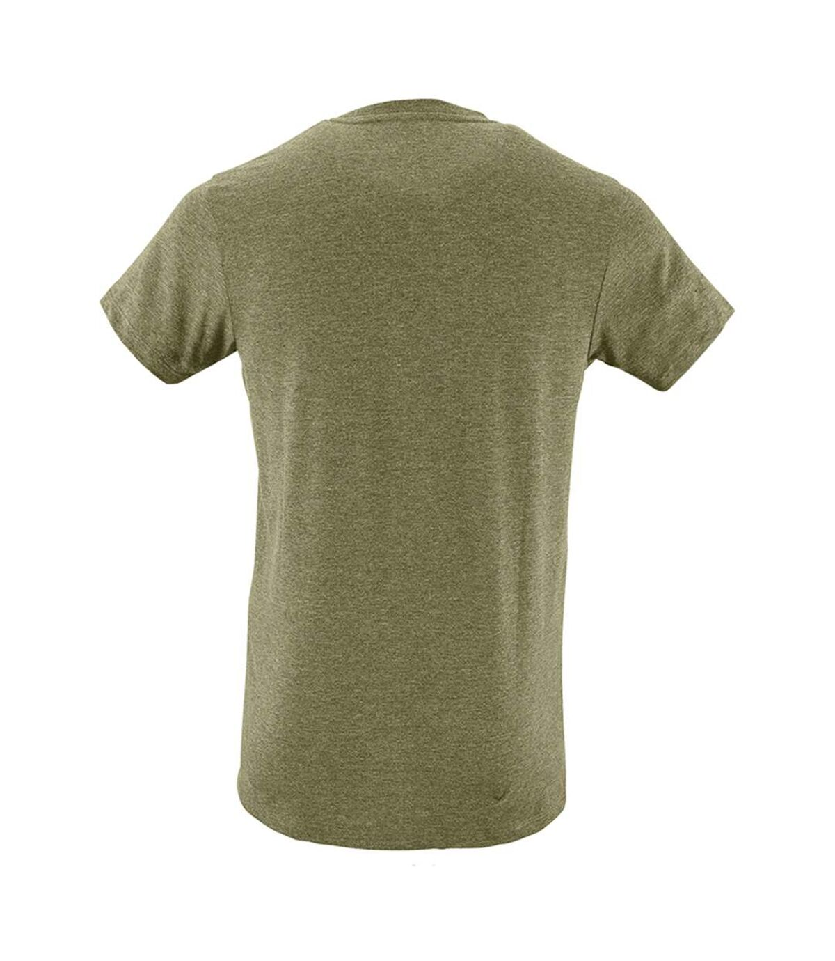 SOLS Mens Regent Slim Fit Short Sleeve T-Shirt (Heather Khaki) - UTPC506