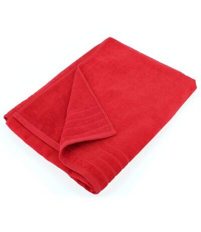 Drap de plage 90x160 cm KUPARI rouge