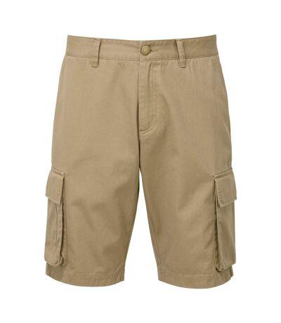Asquith & Fox Mens Cargo Shorts (Khaki) - UTRW7678
