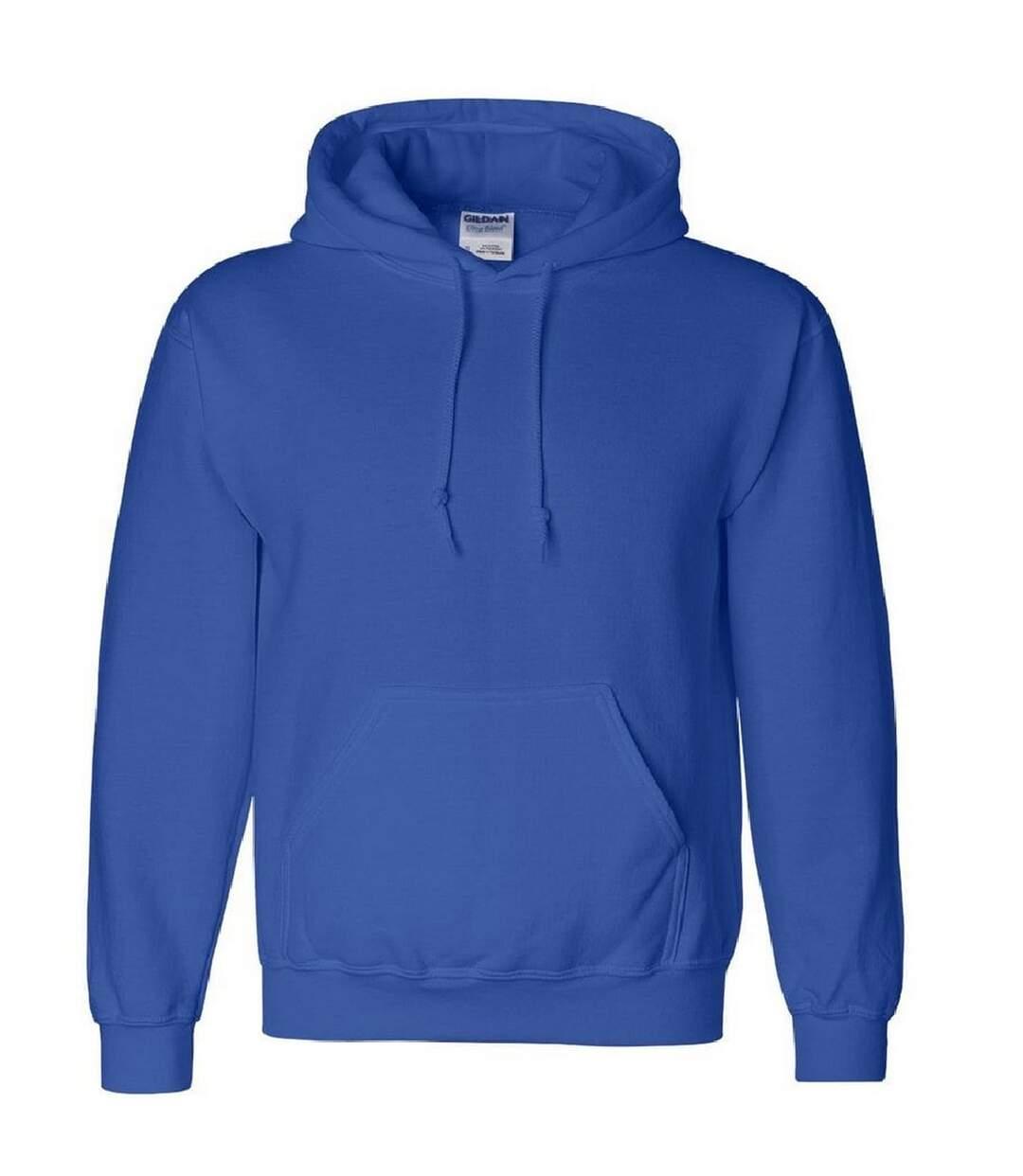 Gildan Heavyweight DryBlend Adult Unisex Hooded Sweatshirt Top / Hoodie (13 Colours) (Royal) - UTBC461