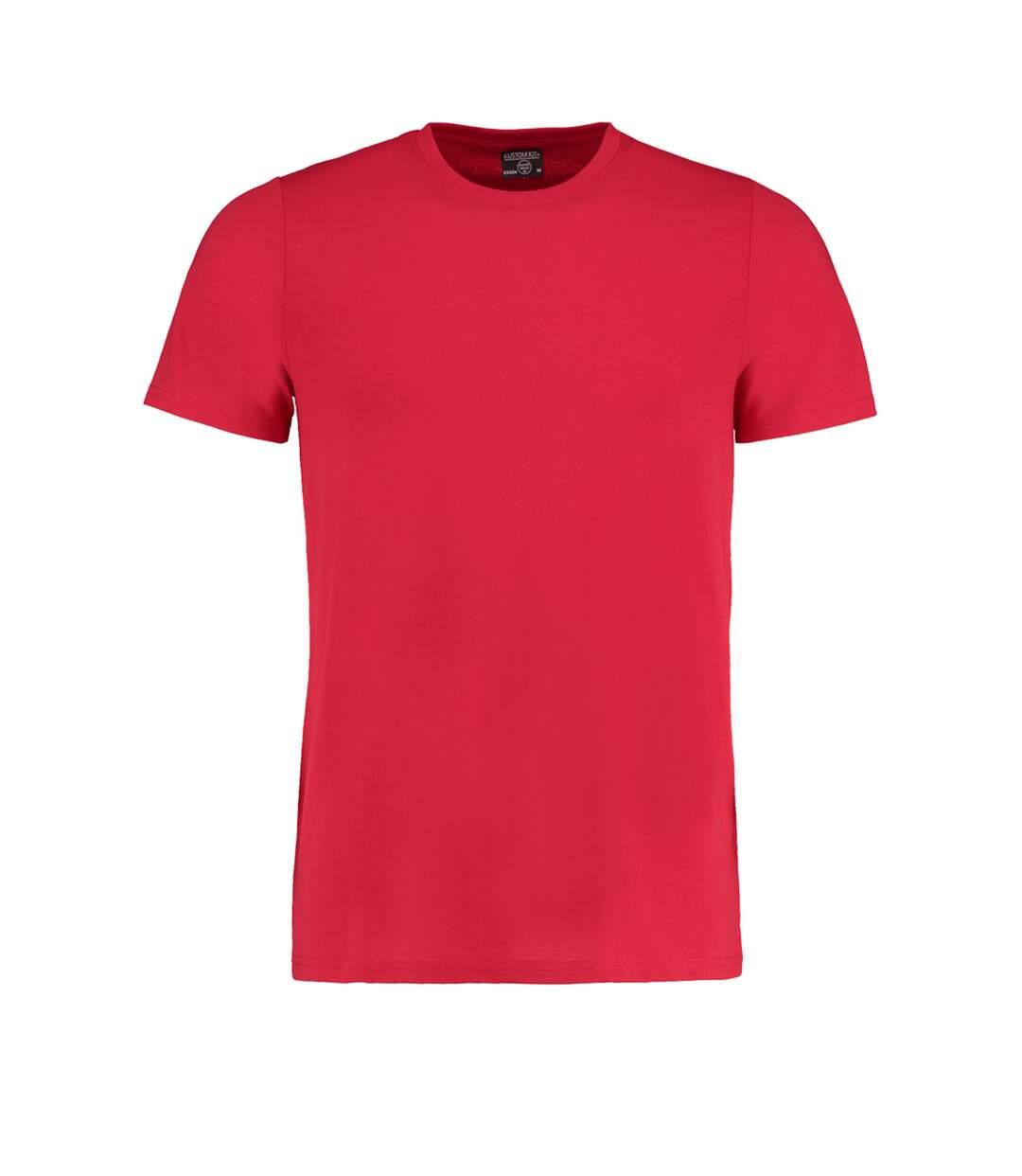 Kustom Kit Mens Superwash 60 Fashion Fit T-Shirt (Red) - UTBC3729