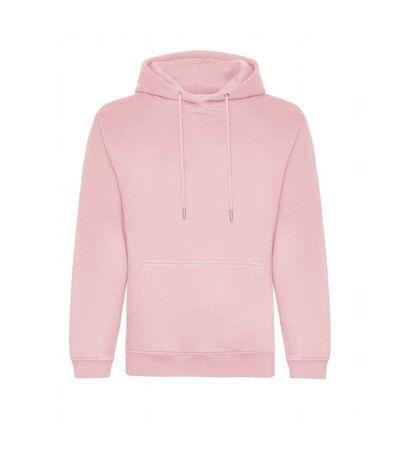 Awdis Mens Organic Hoodie (Baby Pink) - UTPC4386
