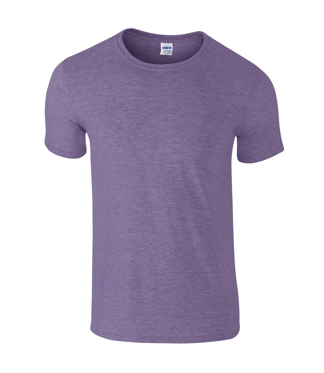 Gildan Mens Short Sleeve Soft-Style T-Shirt (Purple) - UTBC484