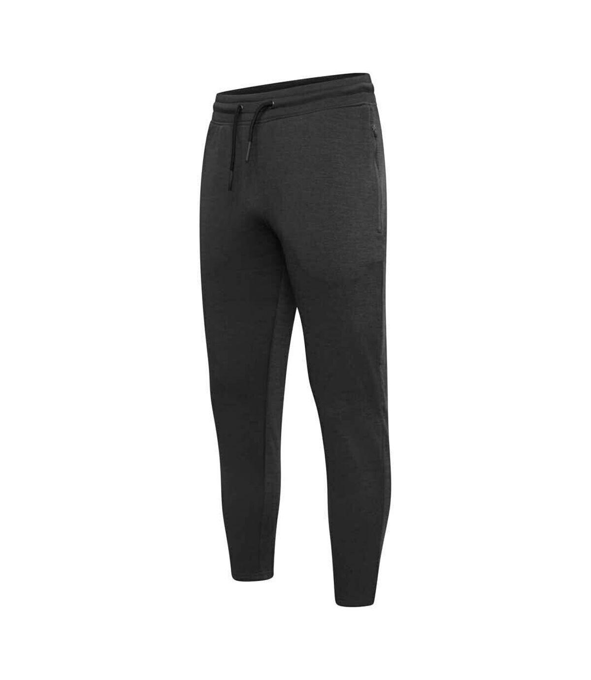 Dare 2B Mens Laze Workout Jogging Bottoms (Charcoal Grey Marl) - UTRG5664