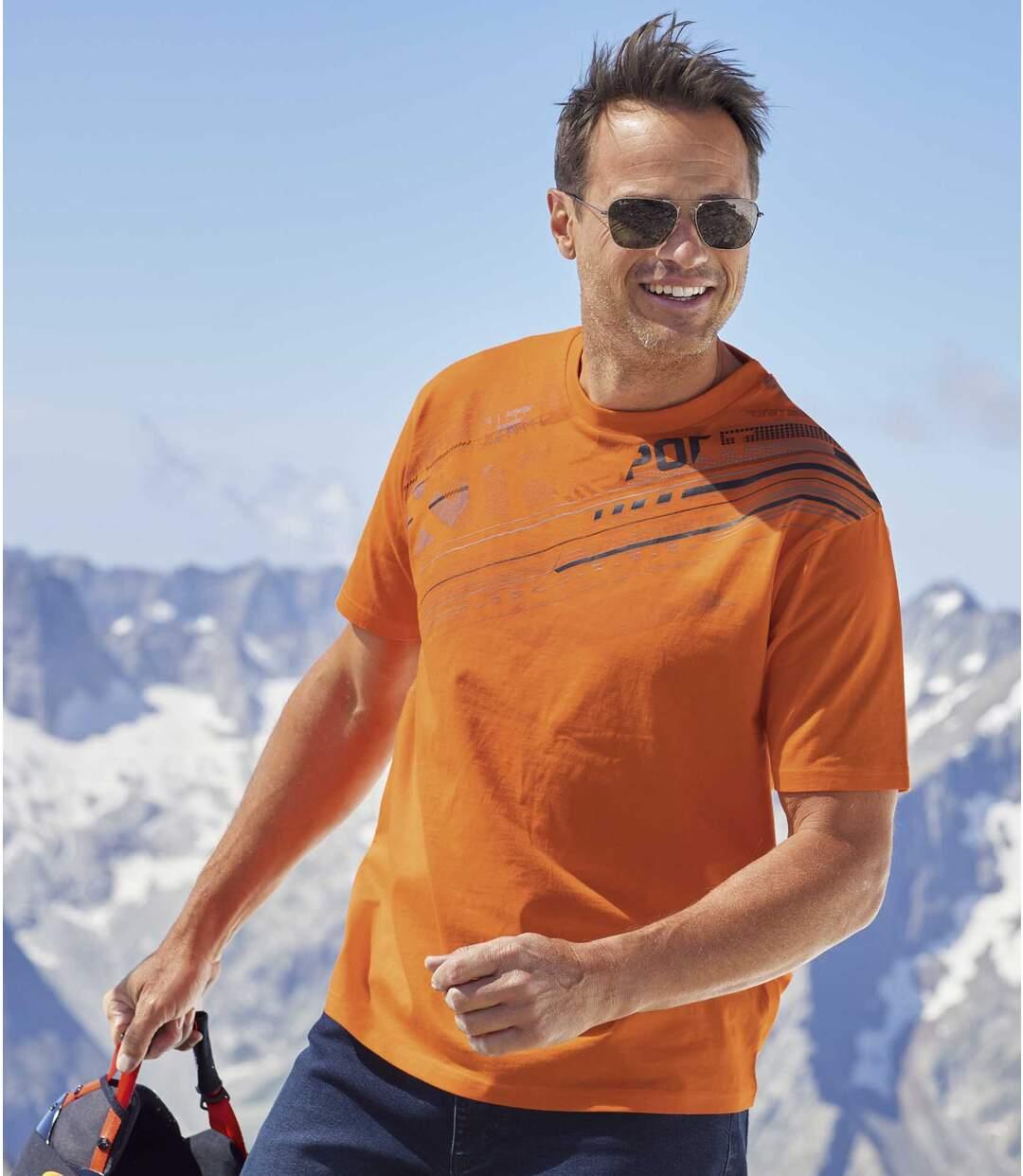 Zestaw 3 t-shirtów Graphic Sport