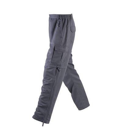 James and Nicholson Mens Zip-Off Pants (Carbon Grey) - UTFU334