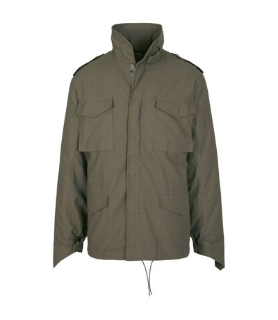 Build Your Brand Mens M65 Jacket (Olive) - UTRW7821