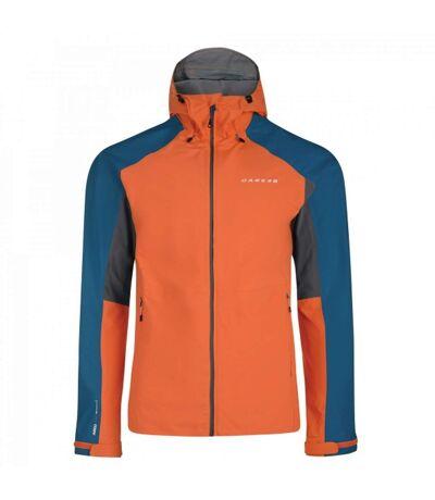 Dare2B Mens Excluse II Jacket (Amber Glow/Kingfisher) - UTRG3523