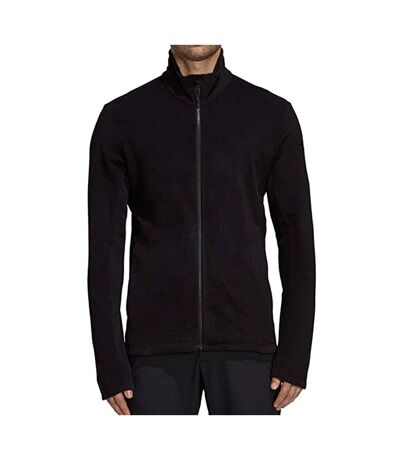 Veste polaire noire homme Adidas Tivid Fleece Jacket