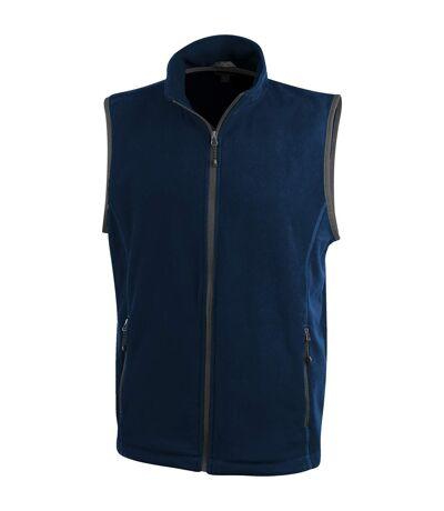 Elevate Mens Tyndall Micro Fleece Bodywarmer (Navy) - UTPF1936