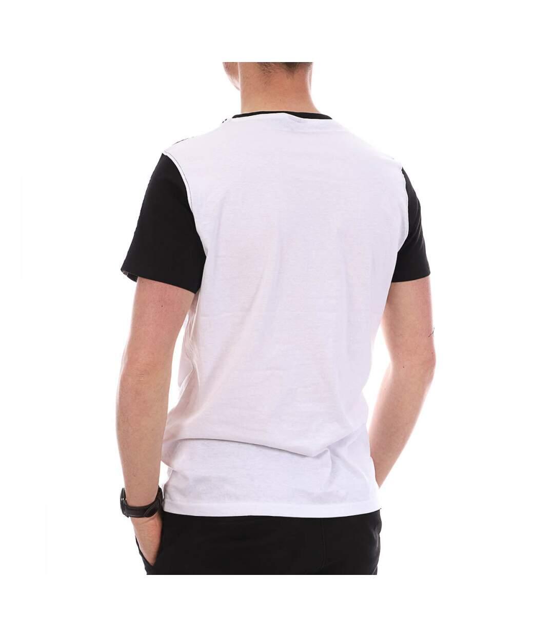 T-shirt Blanc, Noir, Bleu Homme Airness Keny