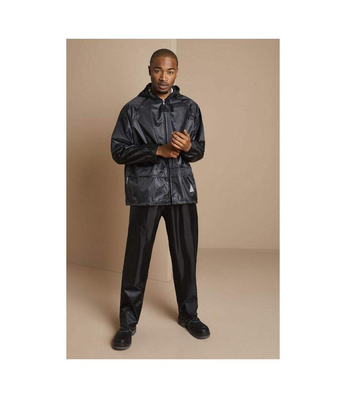 Result Mens Heavyweight Waterproof Rain Suit (Jacket & Trouser Suit) (Neon Yellow) - UTRW3238