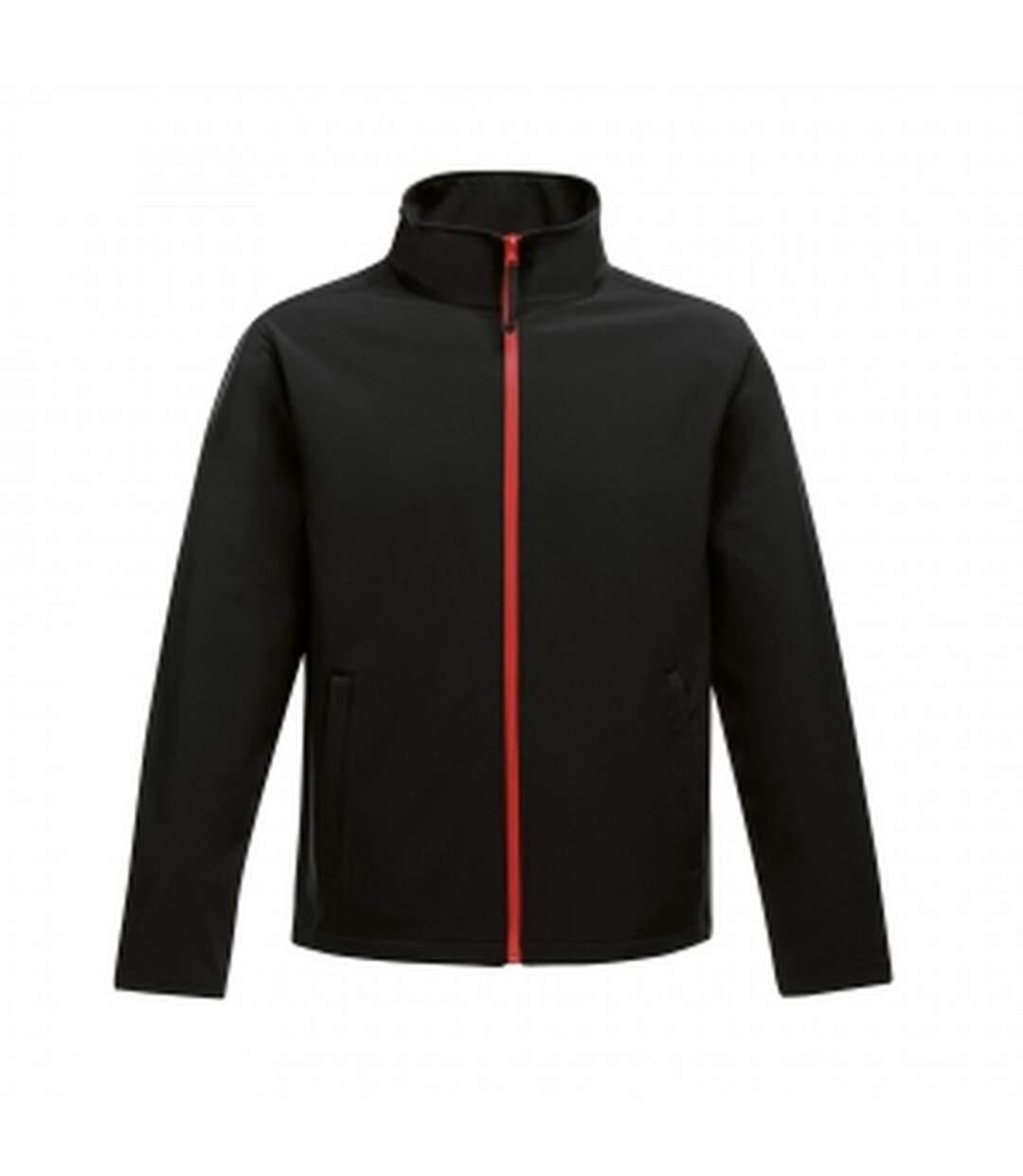 Regatta - Veste Softshell Ablaze - Homme (Noir/rouge) - UTRG3560