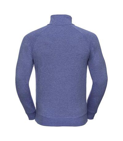 Russell Mens HD 1/4 Zip Sweatshirt (Blue Marl) - UTRW5503