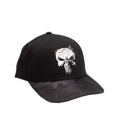 The Punisher Unisex Adult Snapback Cap (Black) - UTNS5941