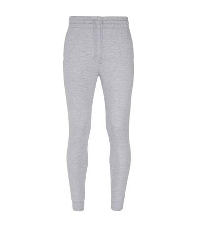 AWDis Hoods Mens Tapered Track Pants (Heather Grey) - UTRW5366