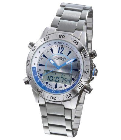 Sportowy zegarek cyfrowo-analogowy