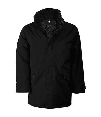 Kariban Mens Parka Performance Jacket (Light Royal/Black) - UTRW731