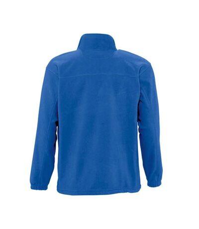 SOLS Mens North Full Zip Outdoor Fleece Jacket (Black) - UTPC343