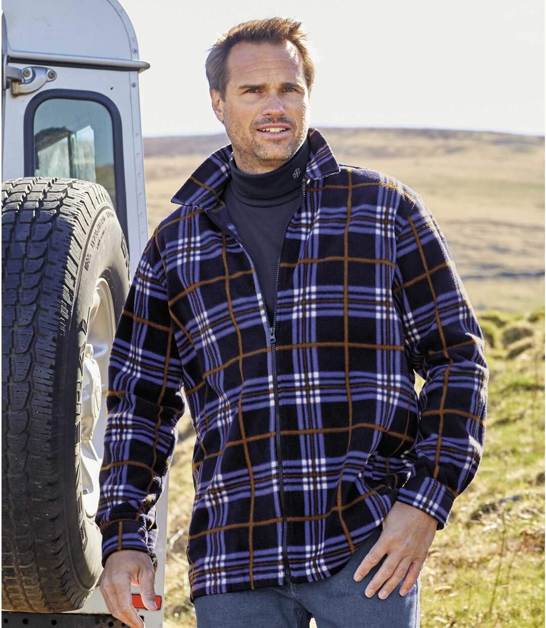 Hemdjacke aus Fleece