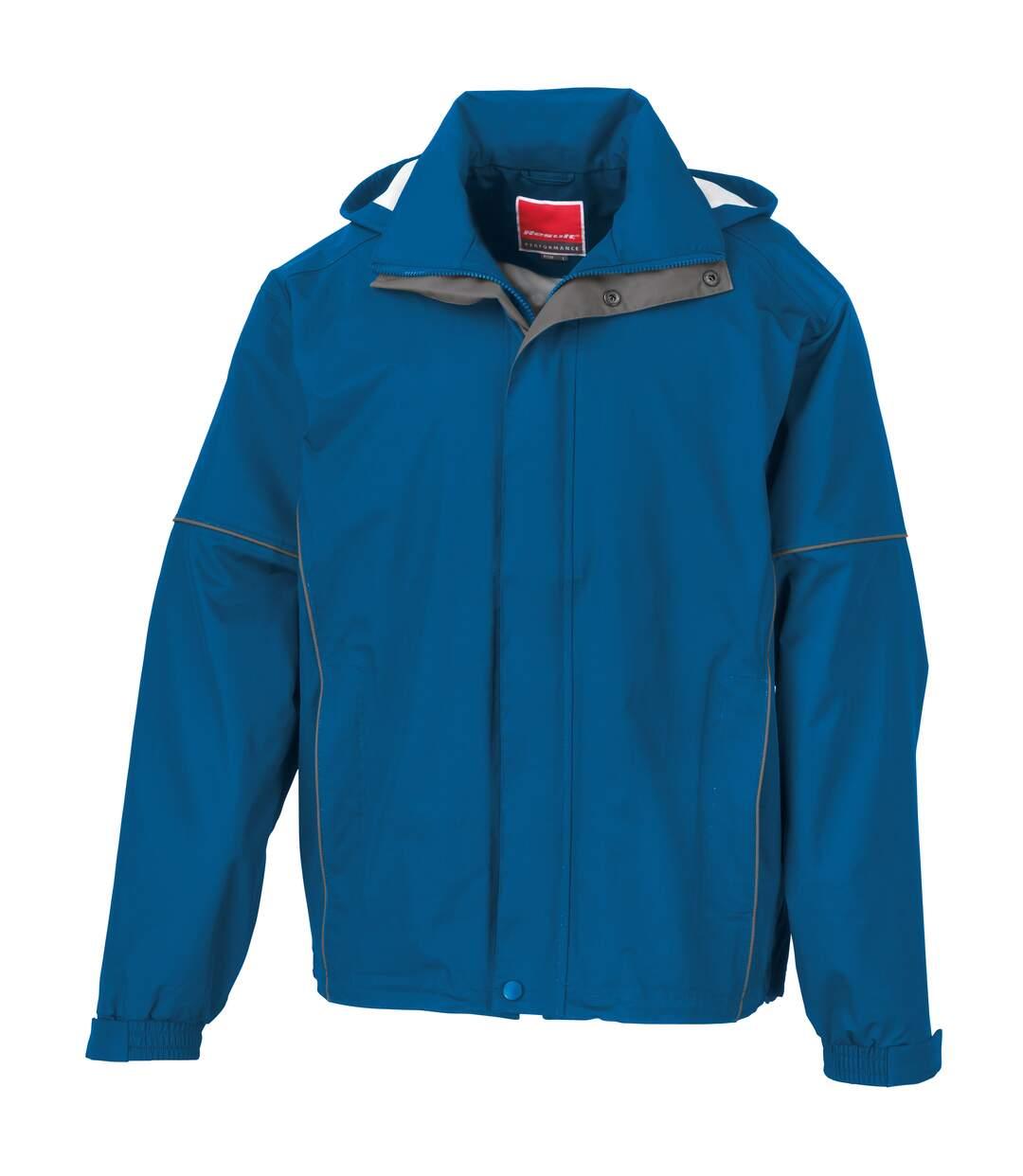 Result Mens Urban Outdoor Lightweight Technical Jacket (Waterproof & Windproof) (Royal) - UTRW3244