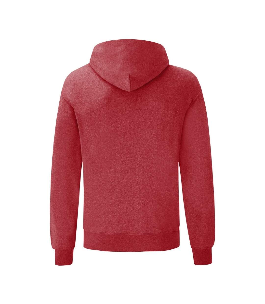 Fruit Of The Loom - Sweat À Capuche - Homme (Rouge chiné) - UTBC366