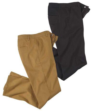 Sada 2 kalhot chinos