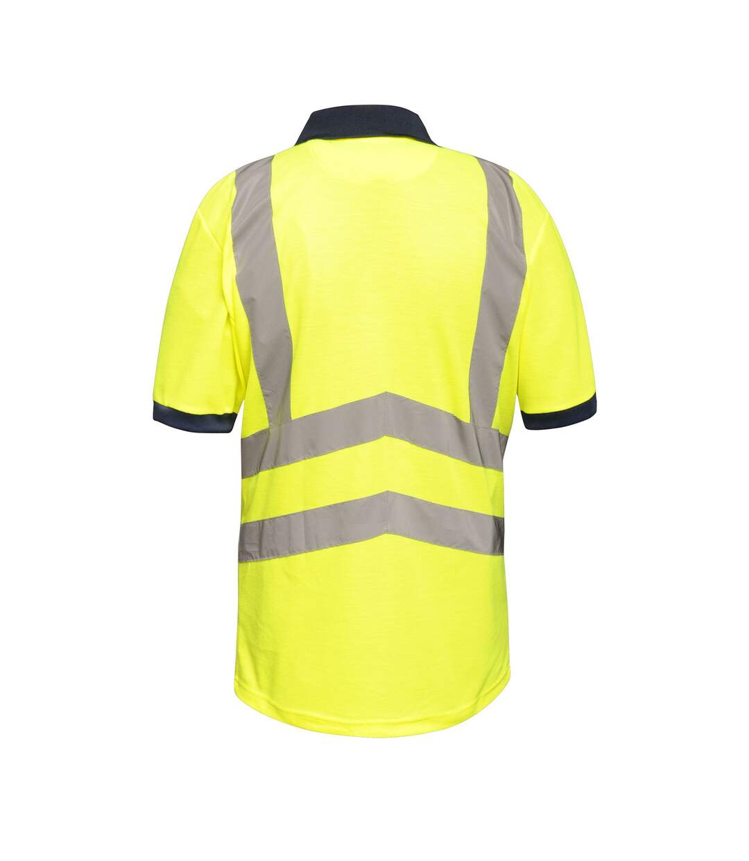 Regatta Mens Hi Vis Pro Reflective Work Polo Shirt (Yellow/Navy) - UTRG3983