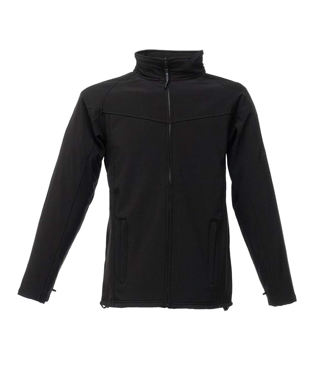 Regatta Professional Mens Uproar Softshell Wind Resistant Fleece Jacket (Black/Black) - UTBC811