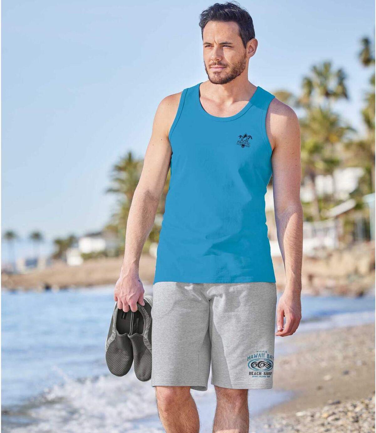 Bermuda Sunny Beach aus Molton Atlas For Men