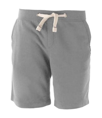 Kariban Mens Fleece Sports Shorts (Oxford Grey) - UTRW2712