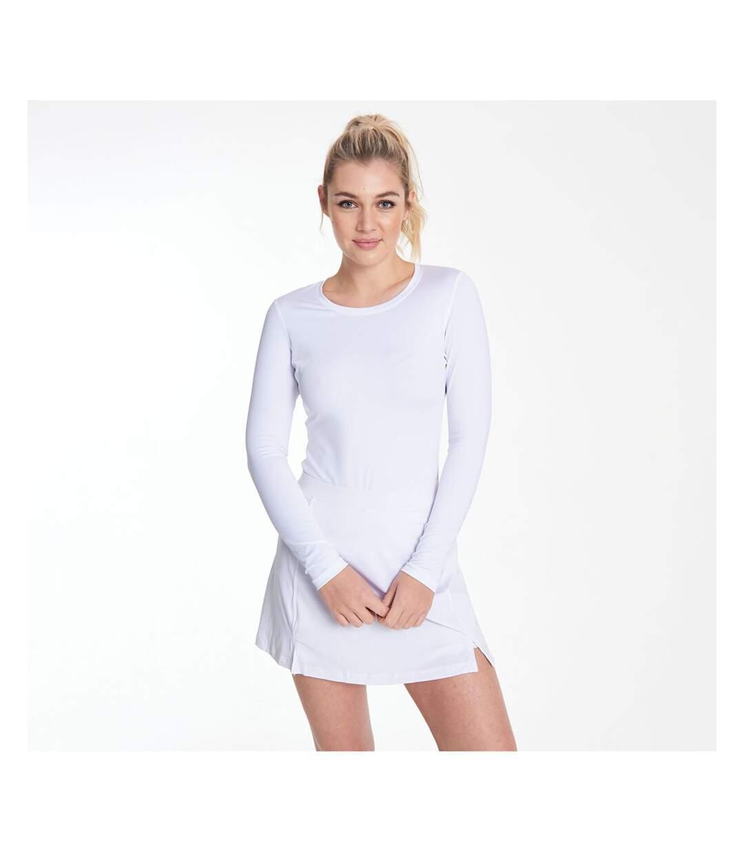 Rhino - T-Shirt Base Layer À Manches Longues - Femme (Blanc) - UTRW2829