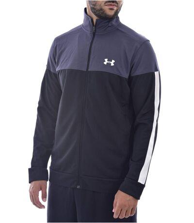 Sweat zippé léger à petit logo brodé  -  Homme - Under armour
