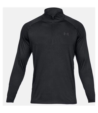 Under Armour Mens Tech T-Shirt (Black/Charcoal Grey) - UTRW7747